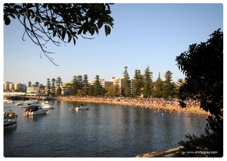 Sydney - Manly Cove NYE1
