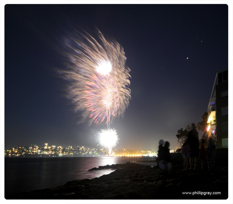 Sydney - Manly Cove NYE4