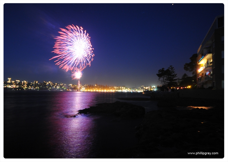 Sydney - Manly Cove NYE5