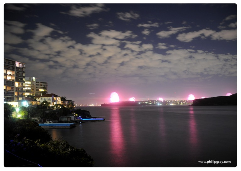 Sydney - Manly Cove NYE7