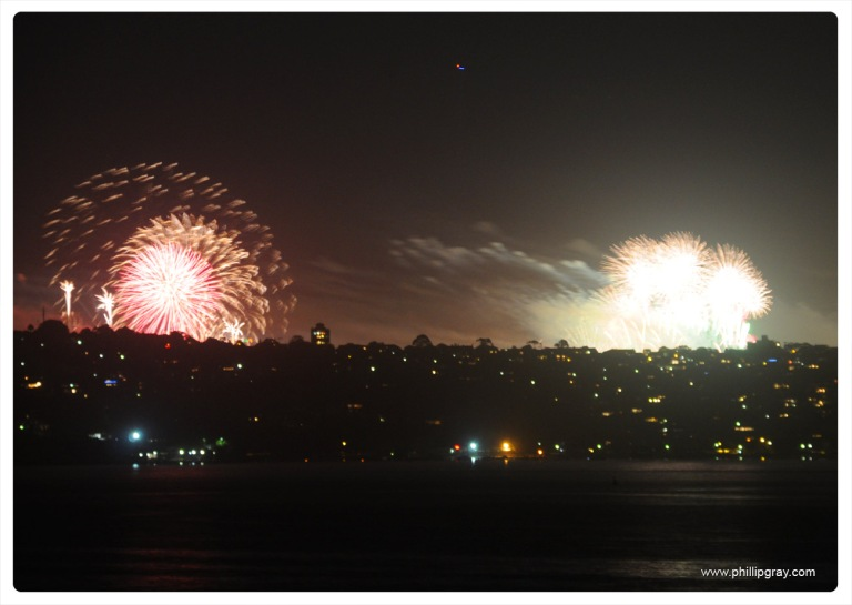 Sydney - Manly Cove NYE8