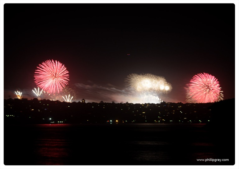 Sydney - Manly Cove NYE9