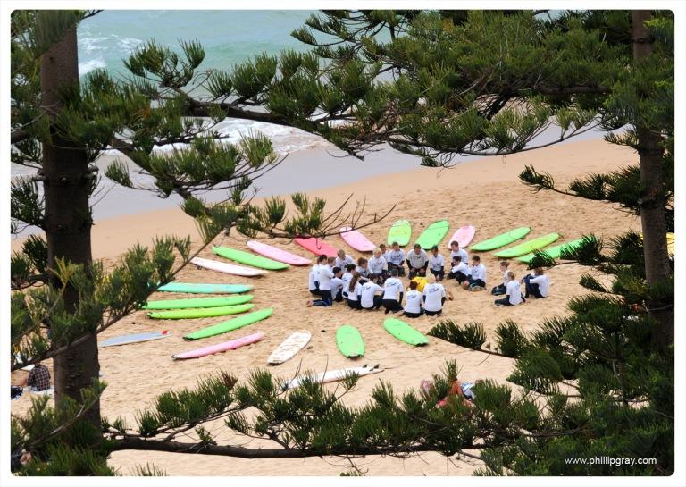 Sydney - Manly Surf School 1