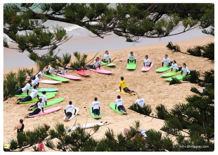 Sydney - Manly Surf School 3