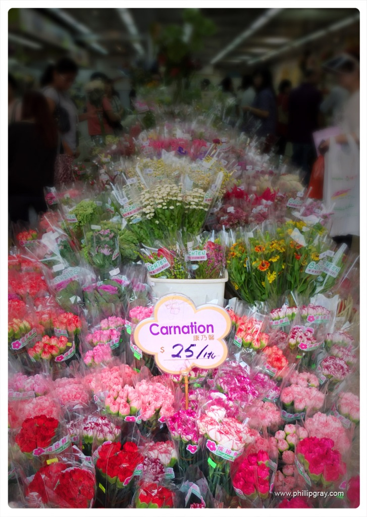 Hong Kong - Flower Market 4