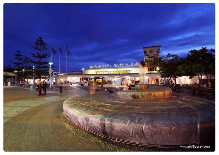 Sydney - Manly Wharf Evening1