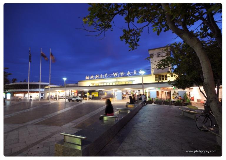 Sydney - Manly Wharf Evening2