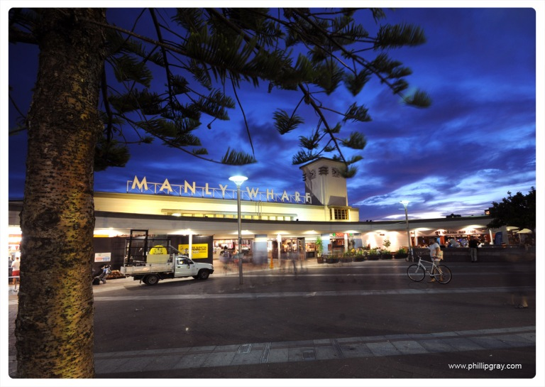 Sydney - Manly Wharf Evening3