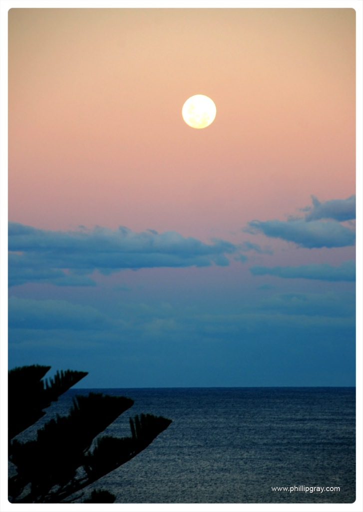Sydney - Manly Moonrise1