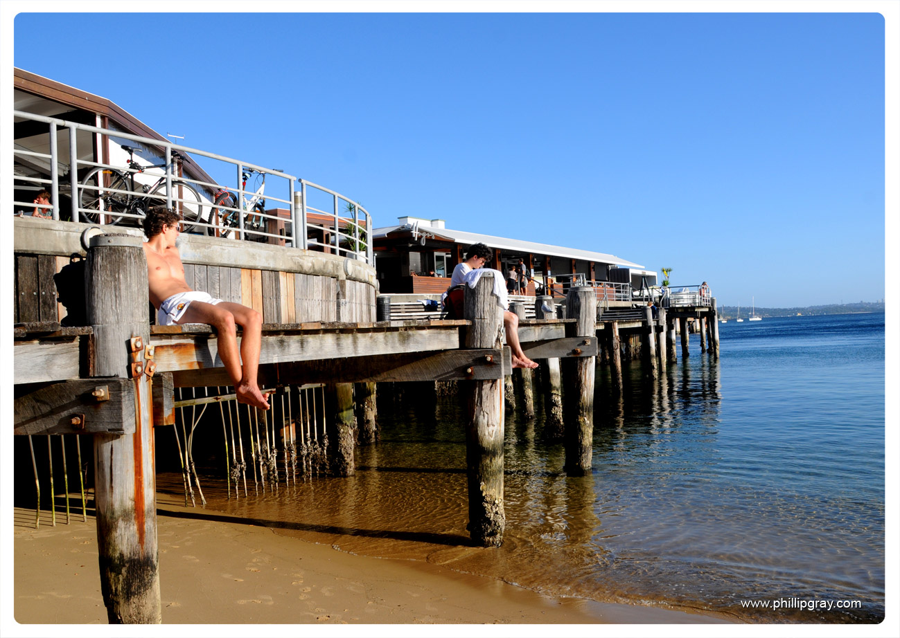 Summer Afternoon at Manly Wharf – phillipgray.com